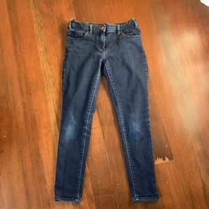 jcrew girls skinny jeans